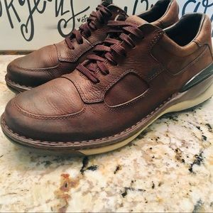 ROCKPORT XCS MENS SIZE 8M BROWN LEATHER LACE UPS